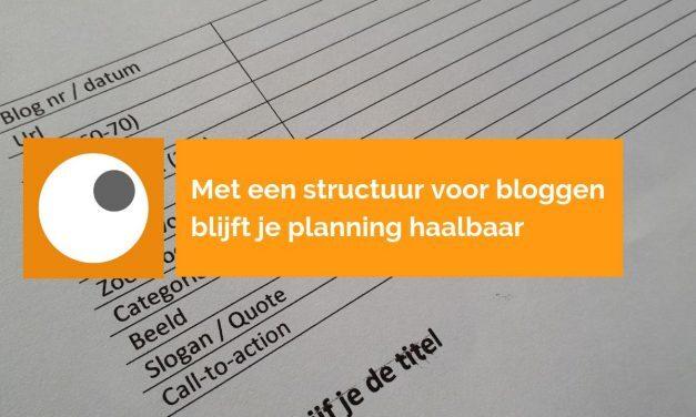 Handige blog template geeft je blogproces structuur