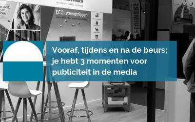 Driedubbel publiciteit met je beursdeelname [praktische mediatips]