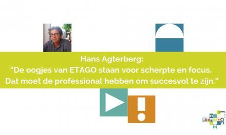 Netwerk en focus komen terug in logo en huisstijl van ETAGO