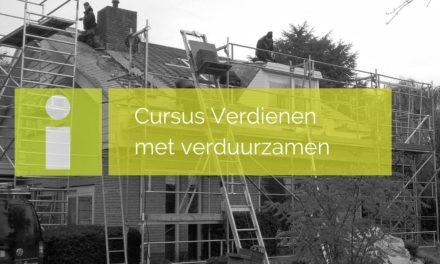Cursus Verdienen met verduurzamen in de bouw