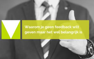 10 redenen om geen feedback te geven (of juist wel)