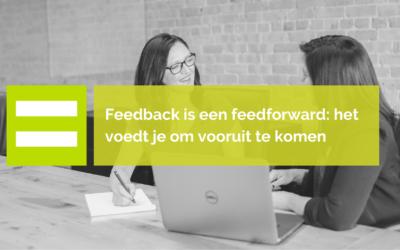 Met feedback kun je verder komen