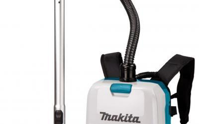 Snoerloos zuigen met krachtige rugstofzuiger Makita | Persbericht