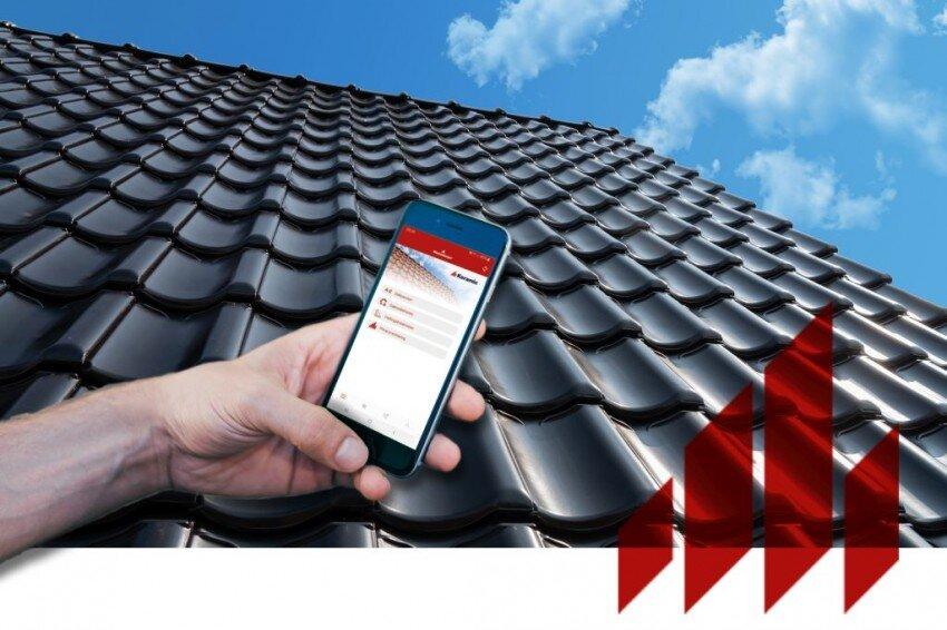 App voor dakdekker met technische informatie   Persbericht