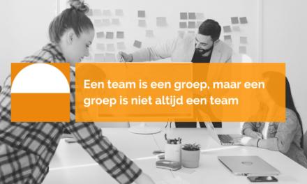 Is je team wel een team of juist een groep?