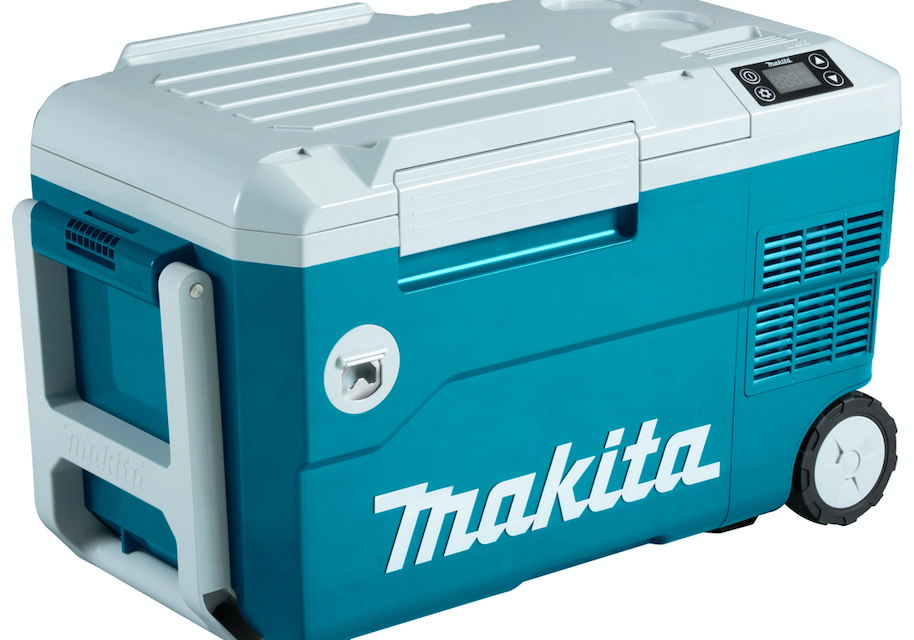 Makita's verrijdbare vries-/koelbox met verwarmfunctie | Persbericht