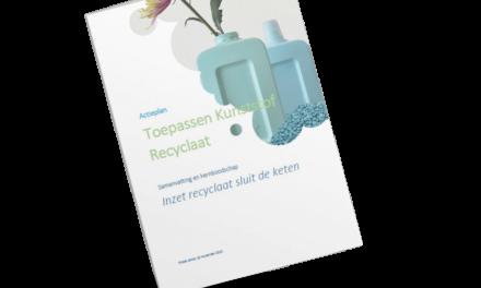 Appèl aan Van Veldhoven; maak recyclaat aantrekkelijk| Persbericht