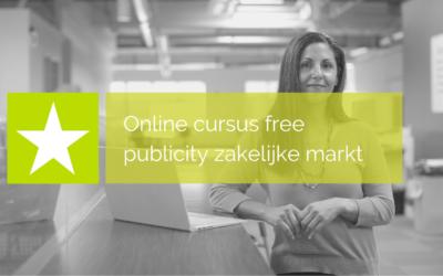 Online cursus Free publicity zakelijke markt