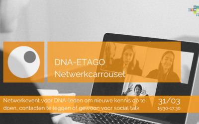 DNA-ETAGO Netwerkcarrousel | 31 maart 2021