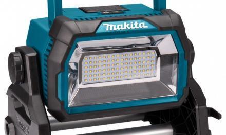 Nieuwe Makita bouwlampen op accu doen huidige verbleken | Persbericht