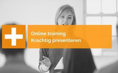Online Training: Krachtig presenteren – Van inhoud naar impact