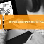 Introductie webinar ETAGO